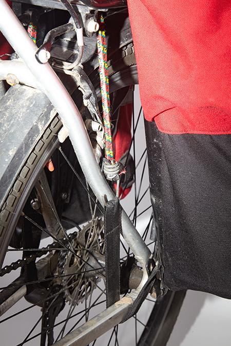 Велорюкзак Dakar 85 крепление к раме велосипеда