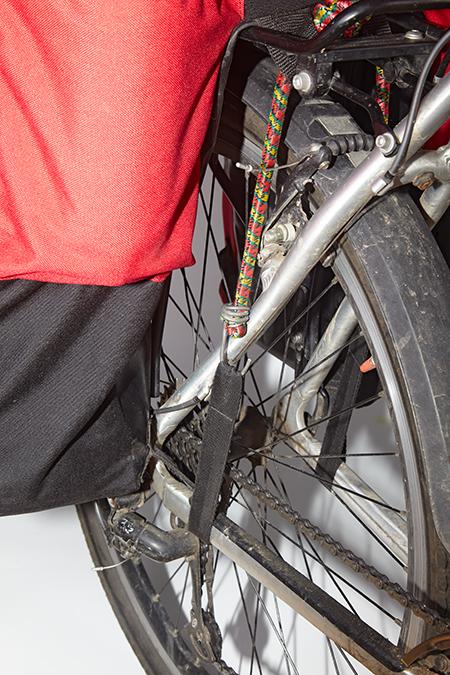 Велорюкзак Dakar крепление к раме велосипеда